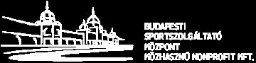 Budapesti Sportszolgáltató Központ Nonprofit Kft.