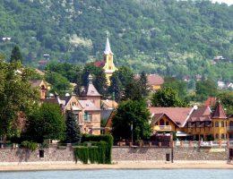 Duna-part Verőcén